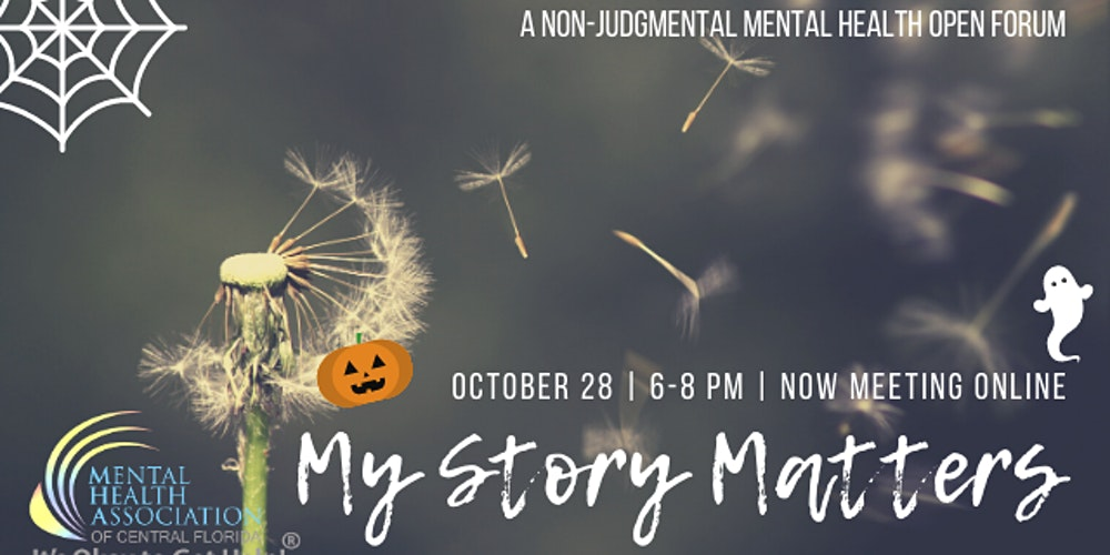 Halloween - 0ct 28, 2020 Online My Story Matters Halloween Edition! Tickets, Wed, Oct 28