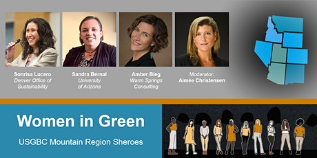 Women in Green: Mountain Region Sheroes Panel Discussion tickets