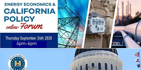Energy Economics & California Policy Forum tickets