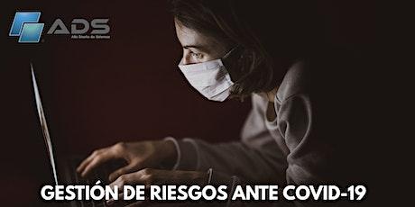 GESTIÓN DE RIESGOS ANTE COVID-19 boletos