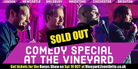 Super Funny Comedy at the Vineyard tickets