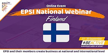EPSI National Webinar - Finland tickets
