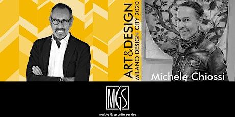 TALK ART&DESIGN | MGS e Michele Chiossi biglietti