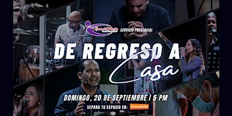 Fiesta en Casa: ¡De regreso a Casa! tickets