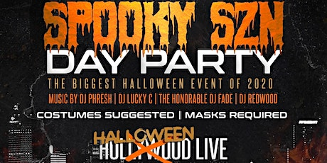 SPOOKY SZN: HALLOWEEN COSTUME DAY PARTY tickets
