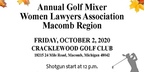 WLAM Annual Golf Mixer tickets
