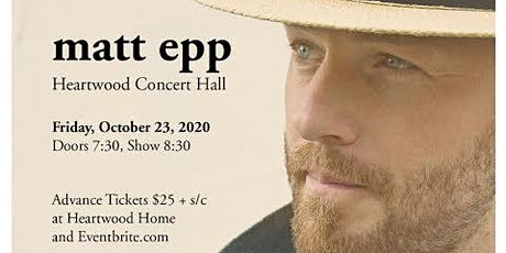 An Evening with Matt Epp tickets
