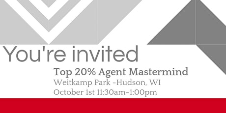 Top 20% Agent Mastermind: Best tips, tricks, and practices of top agents! tickets