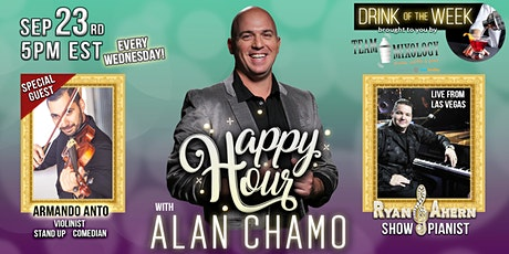 Happy Hour with Alan Chamo - 9/23/2020 tickets