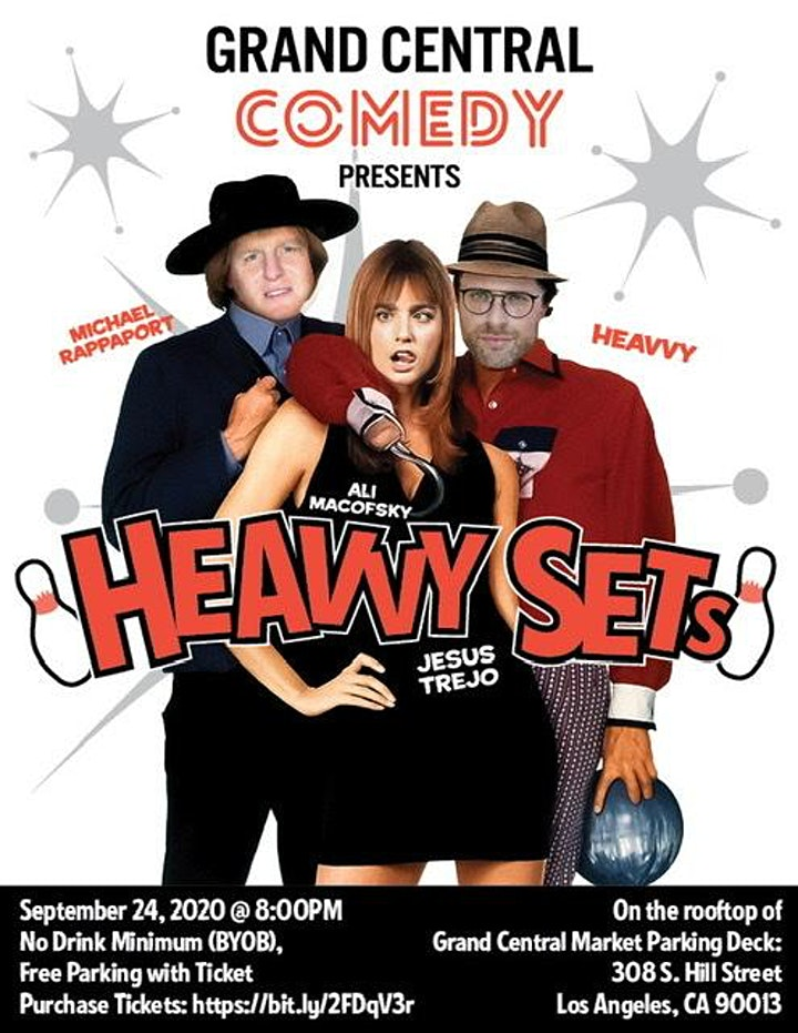 Grand Central Comedy Presents: HEAVVY SETS w/ KYLE KINANE, BRANDON  WARDELL image