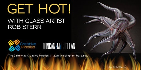 Get Hot! Glass Etching Workshop with Artist Rob Stern tickets