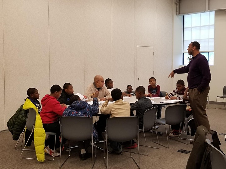SATURDAY LEADERSHIP ACADEMY (Virtual Mentoring for Boys 1st-12th grades) image