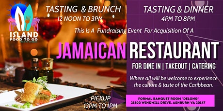 JAMAICAN FOOD TASTING & DINNER PARTY tickets