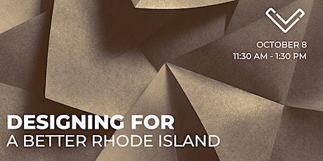Virtual Venture Café: Designing for a Better Rhode Island tickets