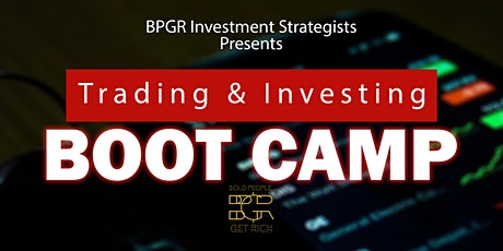 Trading and Investment Boot Camp tickets
