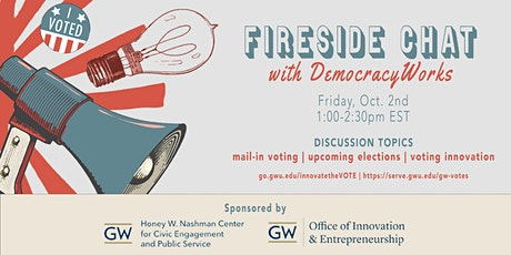 Fireside Chat with DemocracyWorks tickets