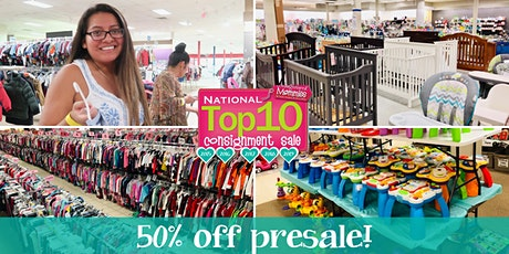 Kids EveryWEAR Consignment's $5 Shop 50% off Green & Black Prices Presale tickets