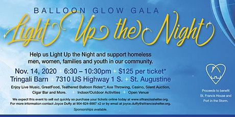 Light Up The Night - Balloon Glow Gala tickets
