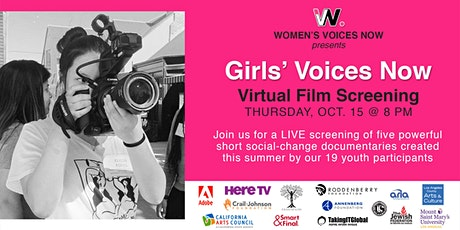 Girls' Voices Now Virtual Screening 2020 tickets