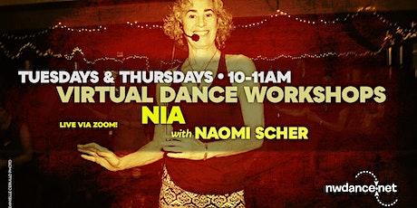 Nia with Naomi Scher - Oct 2020 tickets