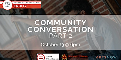 Arts & Culture: Equity, Part 2 tickets