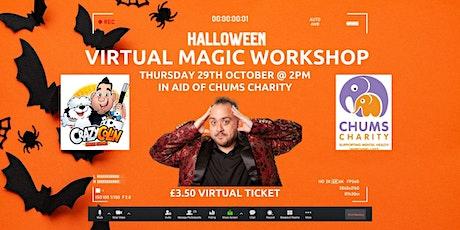 Crazy Colin's Virtual Magic Workshop @ Chums tickets
