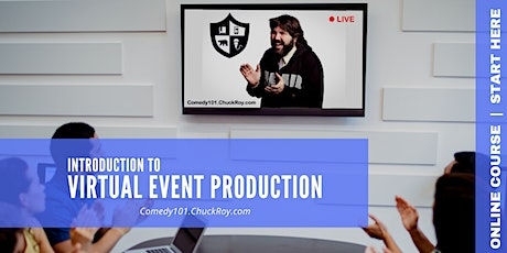 Comedy101 Introduction to Virtual Events Tickets