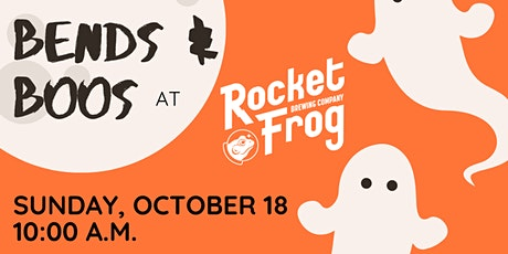 Halloween Bends & Boos at Rocket Frog Brewing tickets