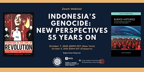 Indonesia's Genocide: New Perspective 55 Years On tickets
