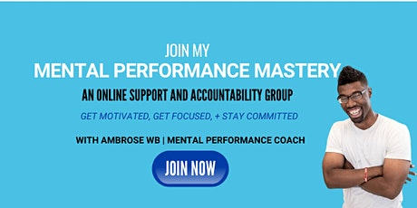 60-Days to Mental Performance Mastery tickets