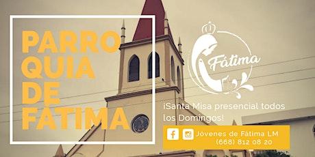 Santa Misa 7:00 p.m. boletos