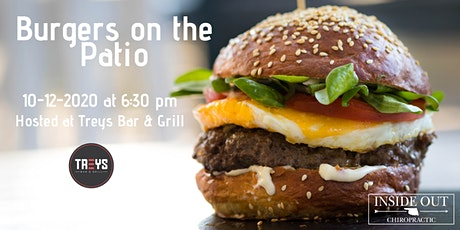 Burgers on the Patio tickets