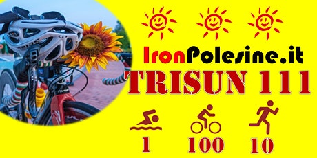 IronPolesine TRISUN 111 TRIATHLON per beneficenza tickets