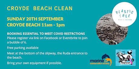 Croyde Beach Clean tickets