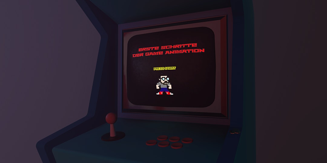Erste Schritte der Game Animation