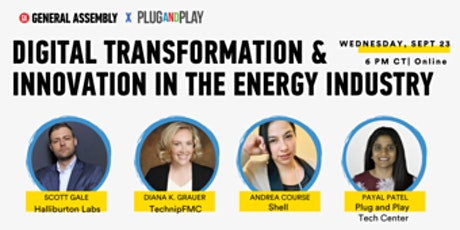 DIGITAL TRANSFORMATION & INNOVATION IN THE ENERGY INDUSTRY tickets