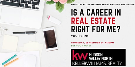 Launch Your Career in Real Estate with KW Hudson Valley North tickets