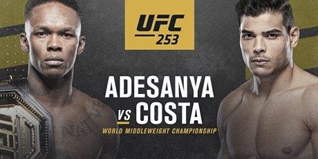 UFC 253 |||   ADESANYA VS. COSTA   ||| tickets