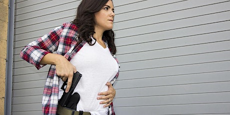 WOMENS ONLY - FREE Concealed Carry Course tickets