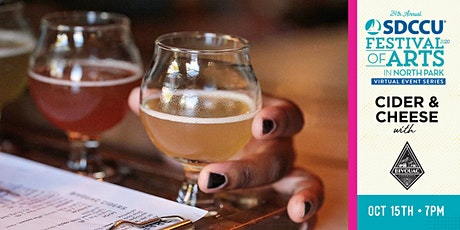 SDCCU Festival of Art Virtual Event Series: Cider & Cheese with Bivouac tickets