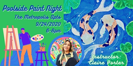 Poolside Paint Night tickets