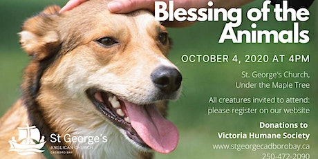 Blessing of the Animals service tickets