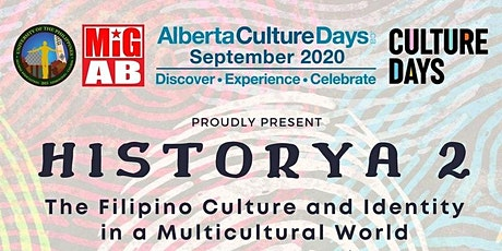 HISTORYA2:The Filipino Culture and Identity in a Multicultural World-Replay tickets