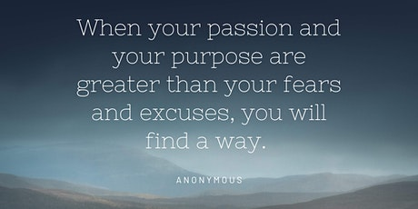 How to Live a Life of Passion and Purpose tickets