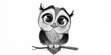 45min Animal Sketching - Owl @1PM (Ages 6+) tickets