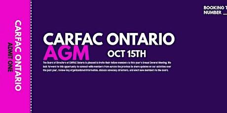 2020 AGM - CARFAC Ontario tickets