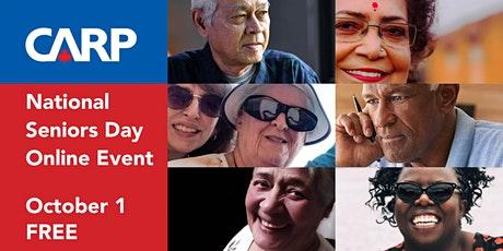 CARP National Seniors Day Online Event tickets