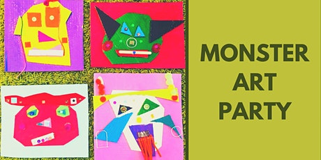 Monster Art Party - Kid's Art Class (ages 6-10) tickets
