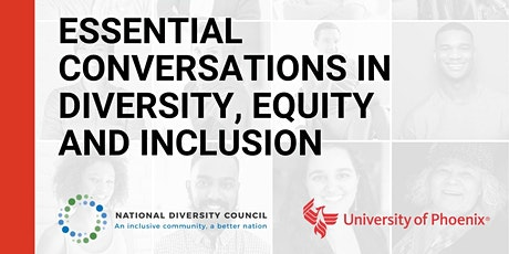Essential Conversations in Diversity, Equity and Inclusion—A Webinar Series tickets