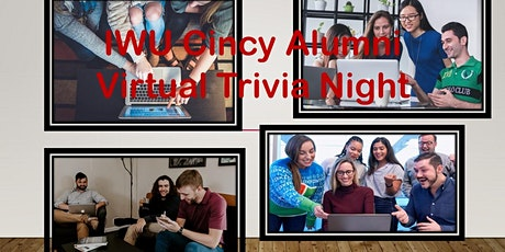 IWU Cincinnati Alumni Virtual Trivia Game Night tickets